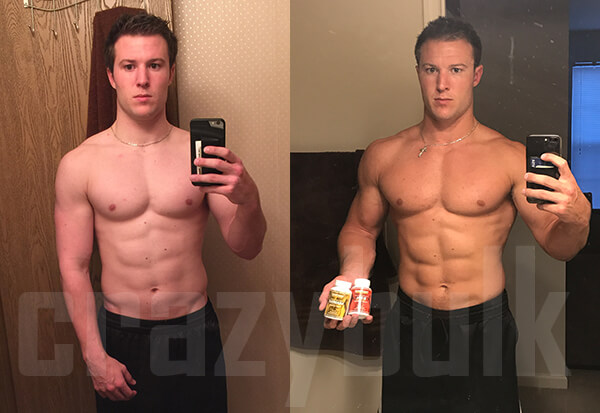 ANADROLE before after results
