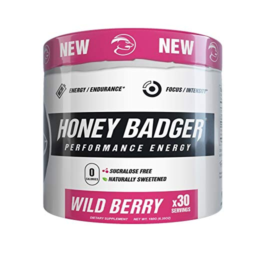 Honey Badger Pre-Workout Review