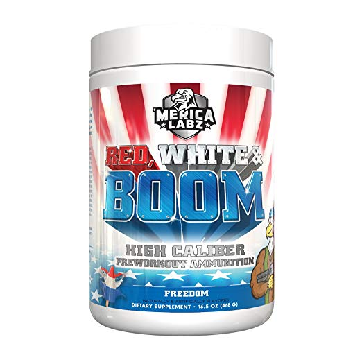 Red, White and Boom Pre-Workout Review